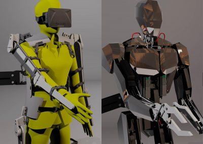 Freerk Wieringa – Android / Humanoid Exoskelet